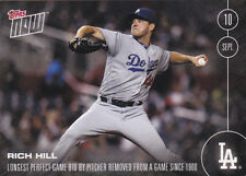2016 Topps NOW 440 Rich Hill Dodgers vs Marlins Sept 10 Only 307 Made