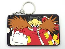 Keychain Key Ring Sonic The Hedgehog Dr.Eggman Holder Label For Suitcase New