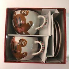More details for disneyland paris exclusive joyeux noel christmas cups and saucers - free uk p+p