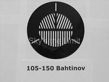 Universal Bahtinov Mask fits 105-150mm outside diameter telescope - lugless