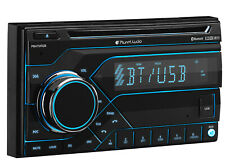 Planet Audio PB475RGB Car Stereo - Double Din, Bluetooth, CD/MP3/USB AM/FM Radio