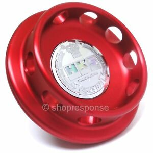 HKS 24003-AN001 Limited Edition Billet Oil Cap Red Fits Honda / Acura M32xP3.5