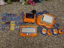 Vtech Vsmile V. smile Consola (), 16 Juegos, 2 controladores, teclado y Art Studio