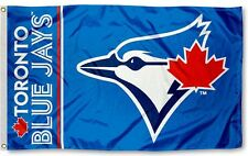 NEW Toronto Blue Jays MLB Official 3x5 Indoor Outdoor Flag Banner Man Cave