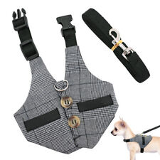 Small Dogs Cats Walking Casual Jacket Harness Vest & Lead Escape Proof Harness