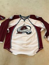 COLORADO AVALANCHE AUTHENTIC TEAM ISSUED REEBOK EDGE 2.0 7287 JERSEY SIZE 58+