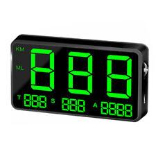 Speedometer HUD Head-Up Display Driving Speed Digital C80 Universal GPS Veh Y7A4