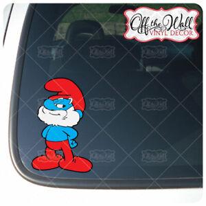 Papa Smurf Vinyl Decal Sticker
