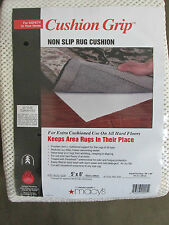 CUSHION GRIP Non Slip Rug Cushion Macys Fits 5x8 Rug NIP