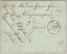 75305 - LUXEMBOURG - Postal History -   COVER from WILTZ 1856