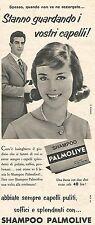 W8683 Shampoo PALMOLIVE  - Pubblicità del 1958 - Vintage advertising