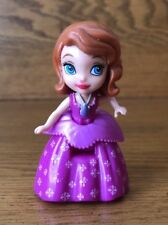 "Disney Princess Sofia The First Mini 3"" Doll Mattel No Crown"