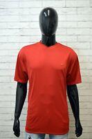 Maglia Uomo NIKE DRI FIT Taglia L XL Maglietta Manica Corta Shirt Rosso Hemd