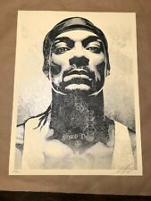 Snoop D-O Double G Dogg OBEY Shepard Fairey S/N print poster edition of 550