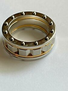 Shaquille O'Neal Stainless Steel Ring Size 10 Two Tone