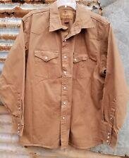 FORGE WORKWEAR Khaki Duck Western Shirt XXL