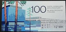 Finland 1985 Centenary if Finnish Banknote Printing Booklet. MNH.
