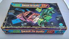 Anni 1970 SSP Ultra Chrome noi KENNER Stock Car Smash UP DERBY Set in Scatola