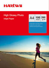 A4 Thick High Glossy Photo Paper For Inkjet Paper Printing 260Gsm - 100 Sheets