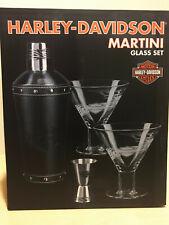 Harley-Davidson Martini Glass Set HDL-18730