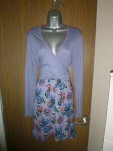 joe browns lilac floral  dress size 14