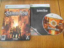 Saints Row / Jeu XBOX 360 / Complet (Steelbook)