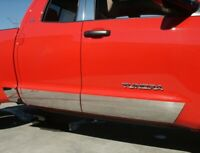 "fit:2007-2020 Toyota Tundra double Cab 6.5' Short Bed Rocker Panel Trim 8"" 8Pc"