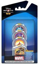 Disney Infinity 3.0 Power Disk Pack Marvel Battlegrounds All Formats New Sealed