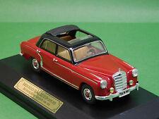 MB Mercedes Benz 220 S Ponton W180 rot Faller Memory Cars 4327 1:43