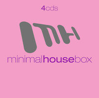 CD Minimal House Box von Various Artists 4CDs