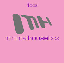 CD Minimal House Box von Various Artists 4CDs