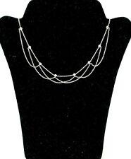 Christmas Choker 925 Sterling Silver Swarovski Zircon Stones New Trend Gift Bag