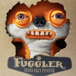Spinmaster Fuggler Funny Ugly Monster Plush Orange Suspicious Fox