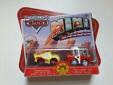 Disney Pixar Cars Mini Adventures Lightning Mcqueen & Mater Vehicles