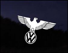 VW Wolfsburg Eagle  Car Decal Euro VAG VW DUB Vinyl Golf Polo Camper Beetle