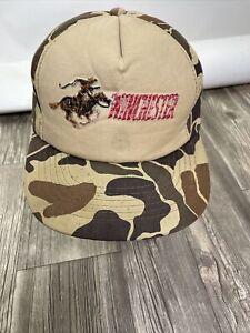 Winchester Vintage Embroidered Trucker Hat Cap Foam Camo