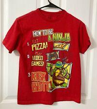 Nickelodeon, Boys Short Sleeve Teenage Mutant Ninja Turtles TMNT Shirt, XL