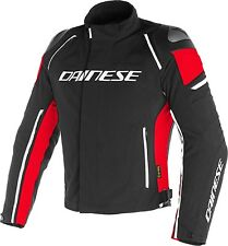 Dainese Racing 3 D-dry Gr. 48 - schwarz rot
