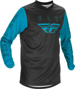 Fly Racing f-16 Jersey Blue /Black MD 374-921M Open Package