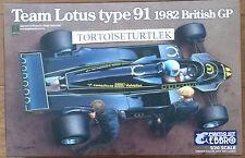EBBRO Team Lotus Type 91 1982 1/20 Model Kit 20012
