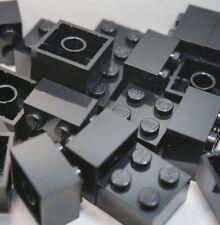 NEW LEGO 50 x BLACK BRICKS 2 x 2 No 3003 CITY,STAR WARS,FRIENDS,MOVIE BULK