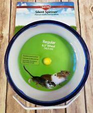 Kaytee Hamster Silent Spinner 6 1/2 inch Exercise Wheel - Blue