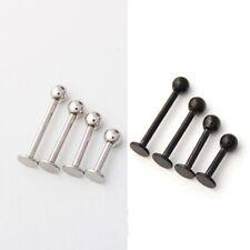 Labret Monroe Lip Bar Tragus Cartilage Helix Ear Ring Stud Upper Ear Piercing UK
