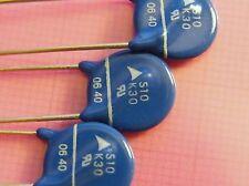 10x Varistor S10K30, 30Vrms/38Vdc 10mm, EPCOS