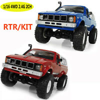 WPL C24 1:16 4WD 2.4G 2CH Military Truck Buggy Crawler Off Road RC Car RTR KIT