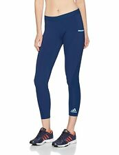 adidas Damen Corechill Tights, Mystery Blue, M