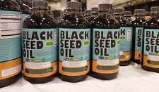 2 X Organic  Black seed oil 16 oz each (glass bottles)(100% Pure Cold-Pressed )