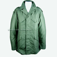 Genuine Issue Dutch Army Olive NATO Combat Jacket New Condition
