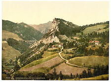 Railway Breitenstein Styria A4 Photo Print