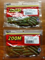 Lot of 20 ct Zoom Rootbeer Pepper Green Grubs